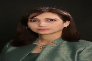 زينب خليل عوده تحاور السيدة علا عوض، رئيسة الإحصاء الفلسطيني